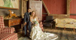 Vintage Wedding Inspiration Photo Shoot with Rustic Charm