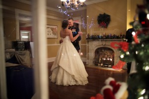 Winter wedding in SoMd