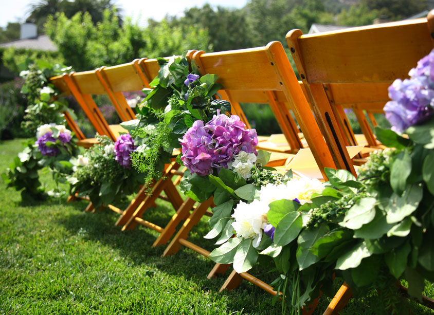 Hitched Ceremony Chair Decor