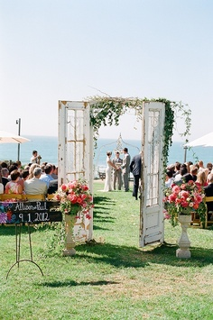 Hitched ceremony doors