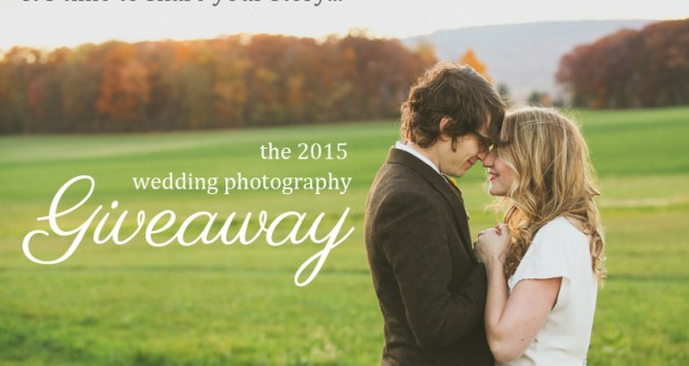 2015 Wedding Photography Giveaway