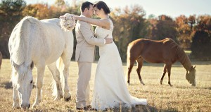 Real SoMd Wedding: Country-Rustic Romance on the Farm