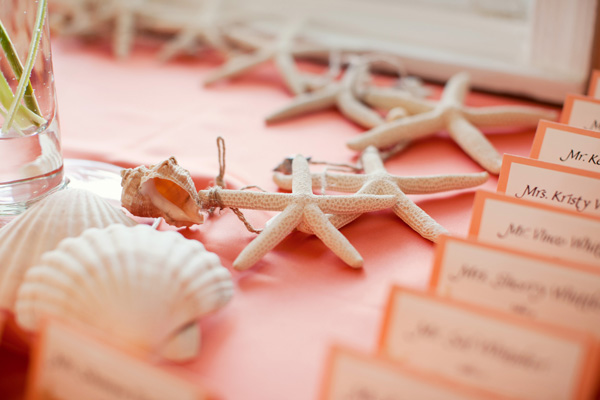 More from this wedding: A Beach-Themed Wedding in Light Blue and Orange