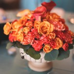 Real SoMd Wedding Inspiration: Orange