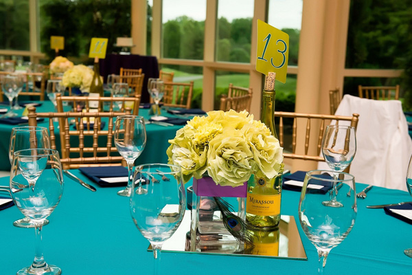 Real SoMd Wedding: DIY Details in Jewel Tones