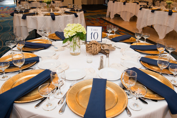 Real SoMd Wedding: Maritime style on the water in Annapolis