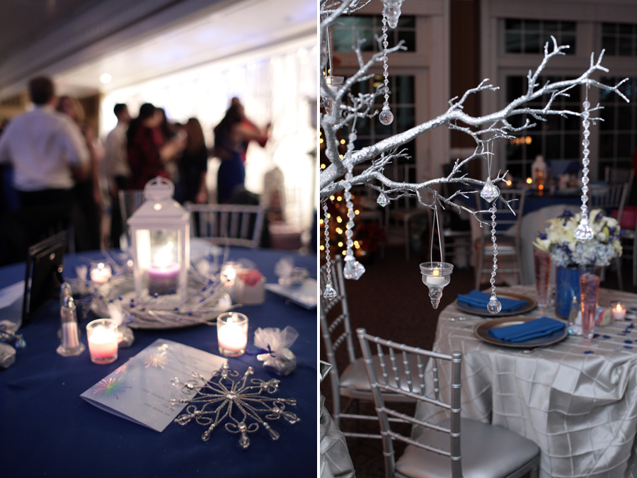 Real SoMd Wedding: Winter Blues and Whites at Olde Breton Inn