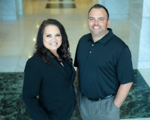 Kimberly Bean of Southern Maryland Weddings and Bill Saunders of 1st Mariner Mortgage