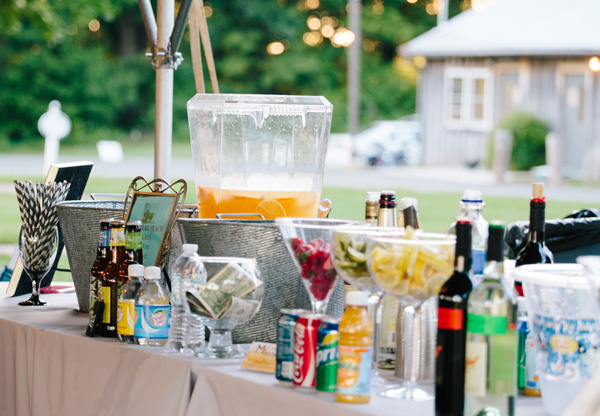 Wedding Reception Venues In Waldorf Md : Real somd wedding orange and blue accents the