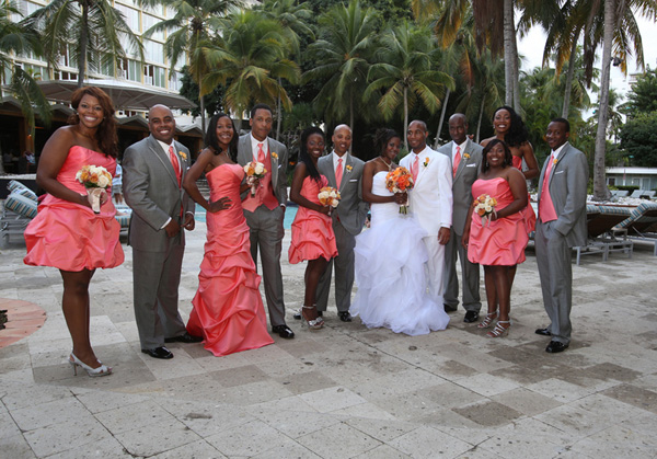 Real SoMd Wedding: A Romantic Evening in Paradise