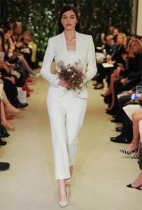 Bride in pants. Image via Brides.com.