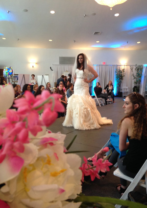 Some bridal shows include a fashion show.